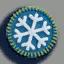 雪花徽章01 毛线卡比