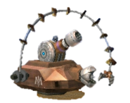 Combo Cannon - 3DS Trophy