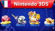 Kirby Planet Robobot - Bande-annonce amiibo (Nintendo 3DS)