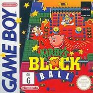 Kirby's Block Ball Portada