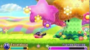 Kirby Triple Deluxe - Flowery Woods