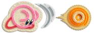 Kirby lanzando objeto-enemigo (KEY)