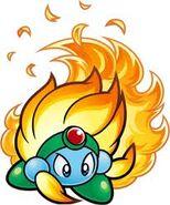 Burning leo2