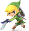 SSBU-LinkCartoon