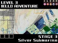 Silver submarine level select