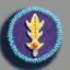 剑徽章01 毛线卡比