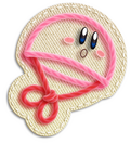 Kirby Paracaidas Artwork (KEY)