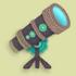 望远镜家具01 毛线卡比