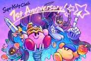 Super Kirby Clash 1st Annversary