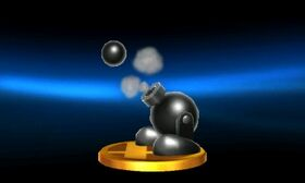 SSB3DS Shotzo Trophy