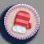 手套徽章01 毛线卡比