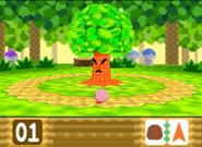 Whispy Woods enfadado Kirby 64