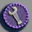 扳手徽章01 毛线卡比