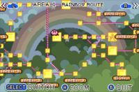 Rainbow Route Map