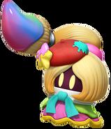 Vividria Kirby Star Allies Artwork