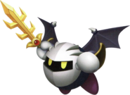 KRtDL Meta Knight running artwork