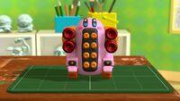 KatRC Mega Kirby Tank figurine