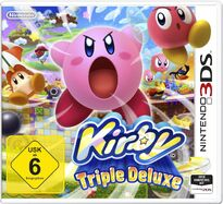 Kirby Triple Deluxe Deutsches Cover