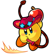 KBR Yellow Whip kirby Artwork