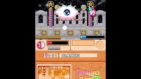 Kirby super star ultra springe breeze boss3 kracko