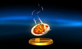 SSB3DS Superspicy Curry Trophy