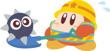 Waddle Dee avec pelle PPPTrain artwork