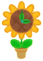 KEY Flower Clock sprite