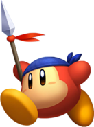 KRtDL Bandana Waddle Dee running artwork