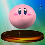 Trophée Kirby ballon Melee