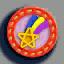 流星徽章01 毛线卡比