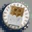 巧克力徽章01 毛线卡比