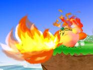 Fire Kirby Wii