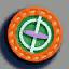 人造卫星徽章01 毛线卡比