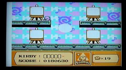 Kirby's Adventure NES Level 2 Boss