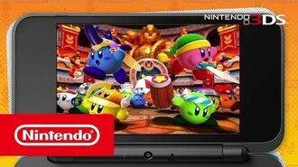 Kirby Battle Royale – Tráiler introducción (Nintendo 3DS)