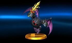 SSB3DS Meta Knight (Alt) Trophy