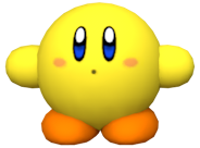 KRtDL Yellow Kirby Model