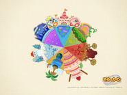 Kirby's Epic Yarn Wallpaper 1