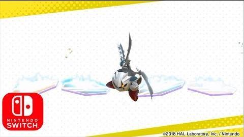 """Kirby Star Allies - A New Friend Was Revealed """"Dark Meta Knight""""! Nintendo Switch HD"""