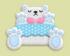 白熊床家具01 毛线卡比
