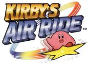 Kirby's Air Ride Logo