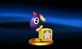 SSB3DS Bomber Trophy