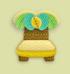 椰子树椅子家具01 毛线卡比