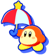 KSA Parasol Waddle Dee artwork