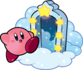 KSSU Kirby and Door artwork