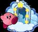 KSSU Kirby and Door artwork