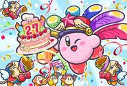 Kirby 27th anniversary