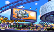 KBR Electro Shock Tank Sign