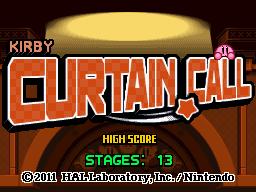 Kirby Curtain Call (KMA)