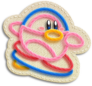 Kirby Pinguino Surfeador Artwork (KEY)